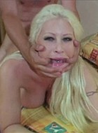 Big tit pornstar slut Candy Manson screwed hard and rough