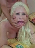 Big tit pornstar slut Candy Manson screwed hard and rough