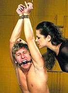 Beautiful Dominantix Bobbi Starr enjoying with male submission