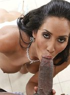 Milf Isis Love fucks her daughters black boyfriend