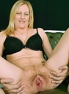milf shows her pussy and milking herself