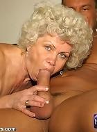 lovely granny gets fucked hard